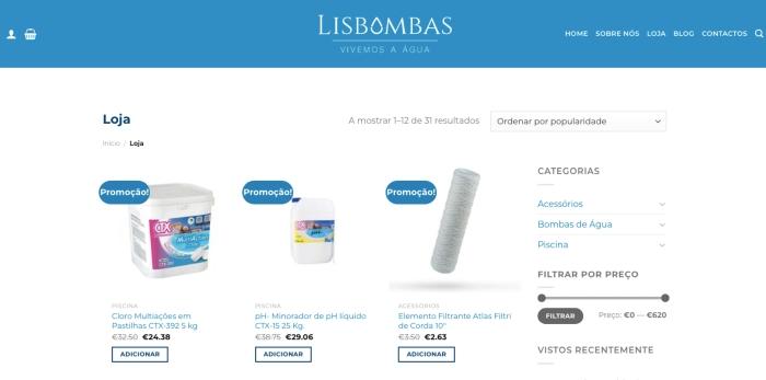 Loja Lisbombas